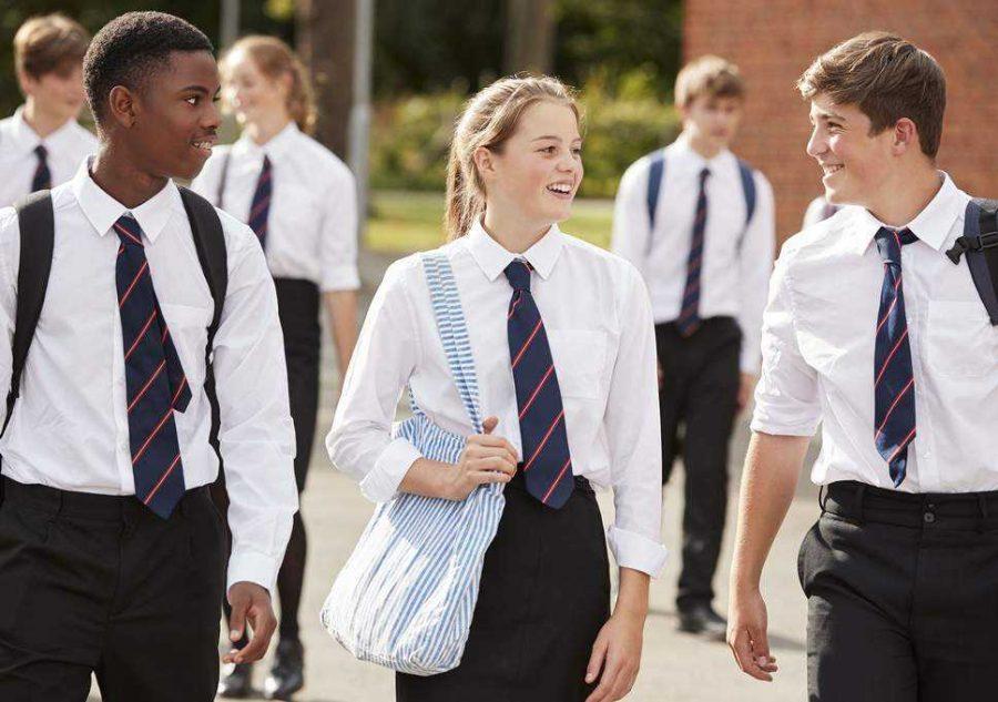 School uniforms get an F