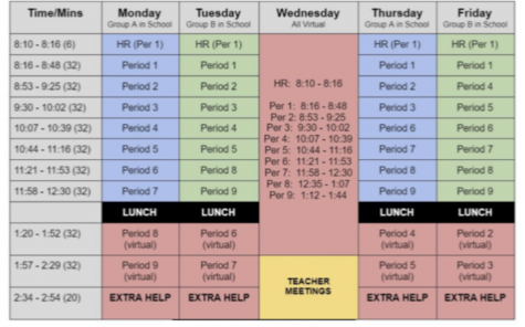 EIS welcomes a new hybrid schedule